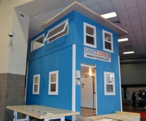 2-story tiny house